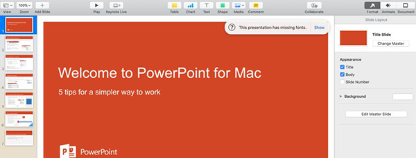 Mac PowerPoint(パワーポイント)の代わりに無料ソフト